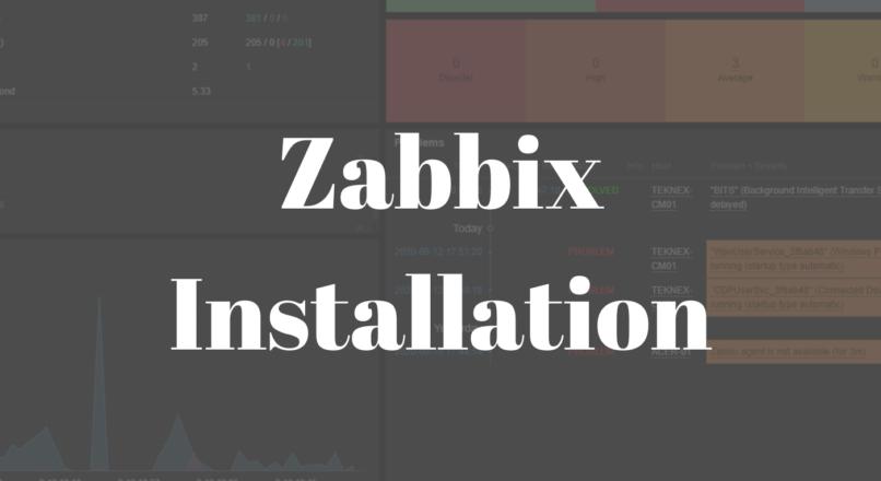 Zabbix Installation on Ubuntu Server