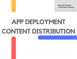 Deploy App and Distribute its Content in ConfigMgr