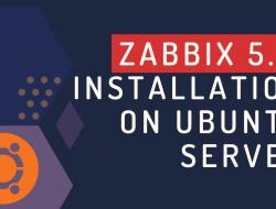Zabbix 5.4 installation on Ubuntu Server